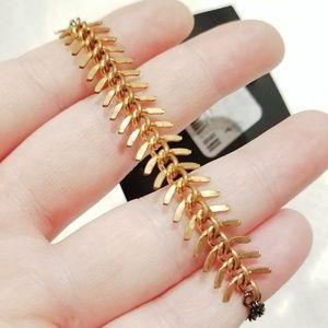 Brandy Melville Skeleton Spinal Cord Bracelet